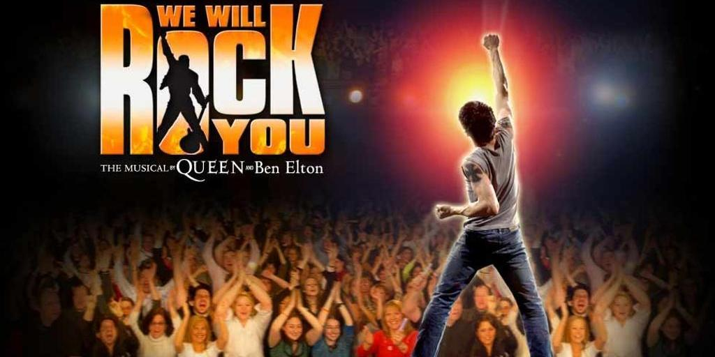 - WE WILL ROCK YOU